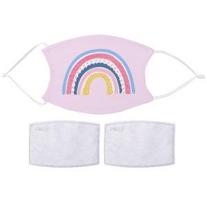 Fabric Facemask Rainbow