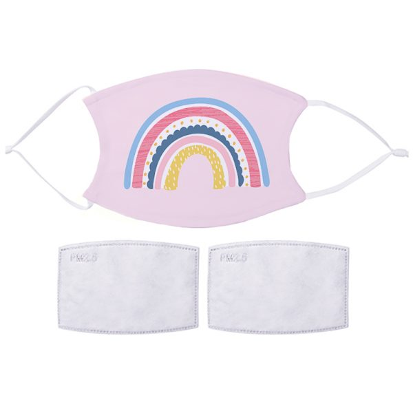 Fabric Facemask Rainbow