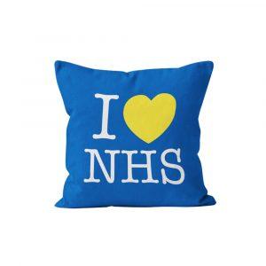 I Love NHS Cushion