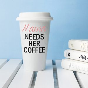 Personalised Mama's Got Needs Travel Mug