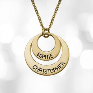 Personalised Circles Necklace