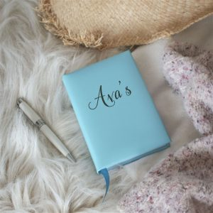 Aqua Personalised 5 Year Diary