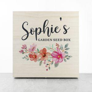 Personalised Flower Garland Accessories Box