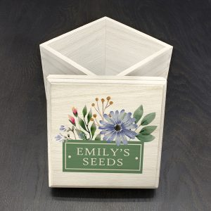 Personalised Flower Seeds Box