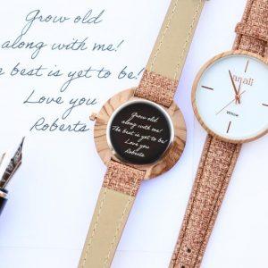 Handwriting Engraving Anaii Watch - Hazel Wood