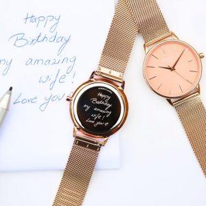 Personalised Engraved Watch