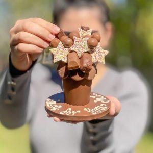 Mini Belgian Chocolate Smash Pot